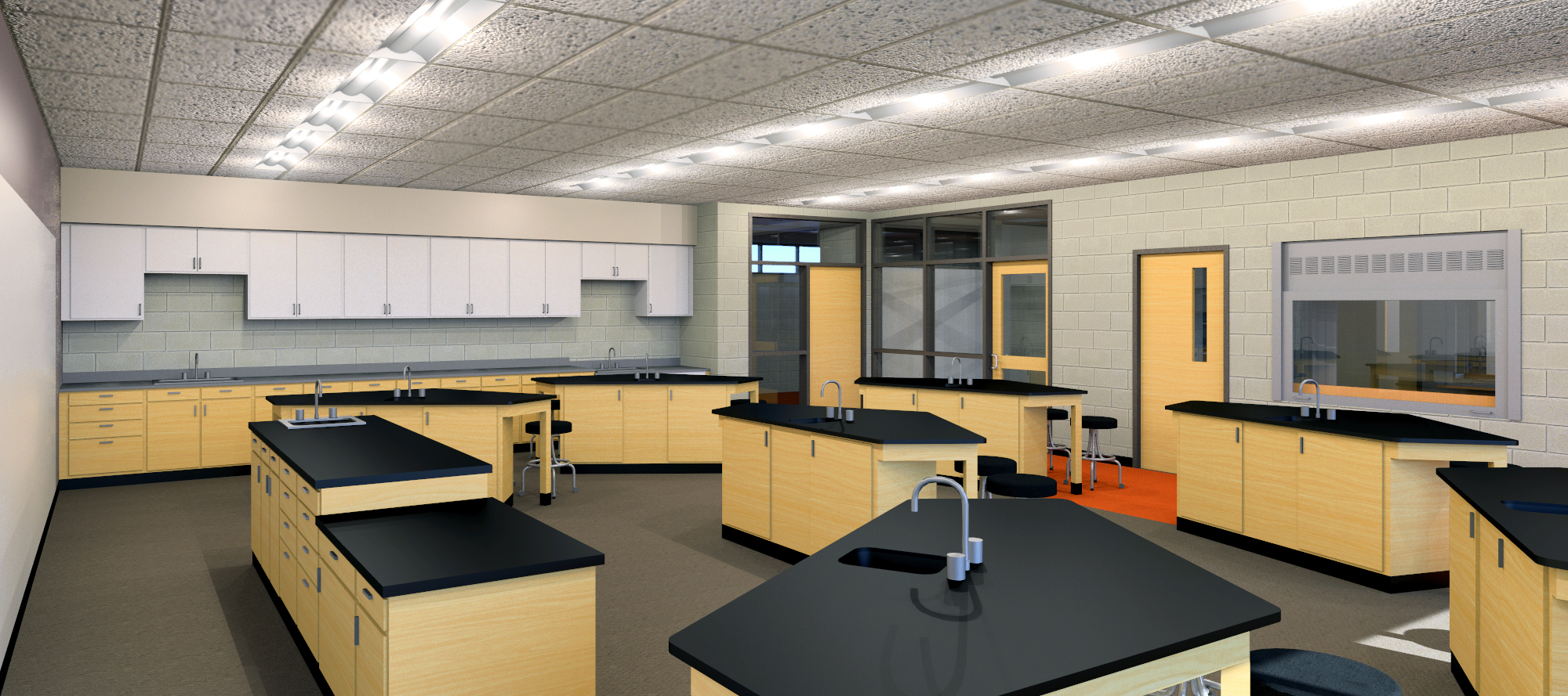 Dla Architects Science Classroom Design Breaks The