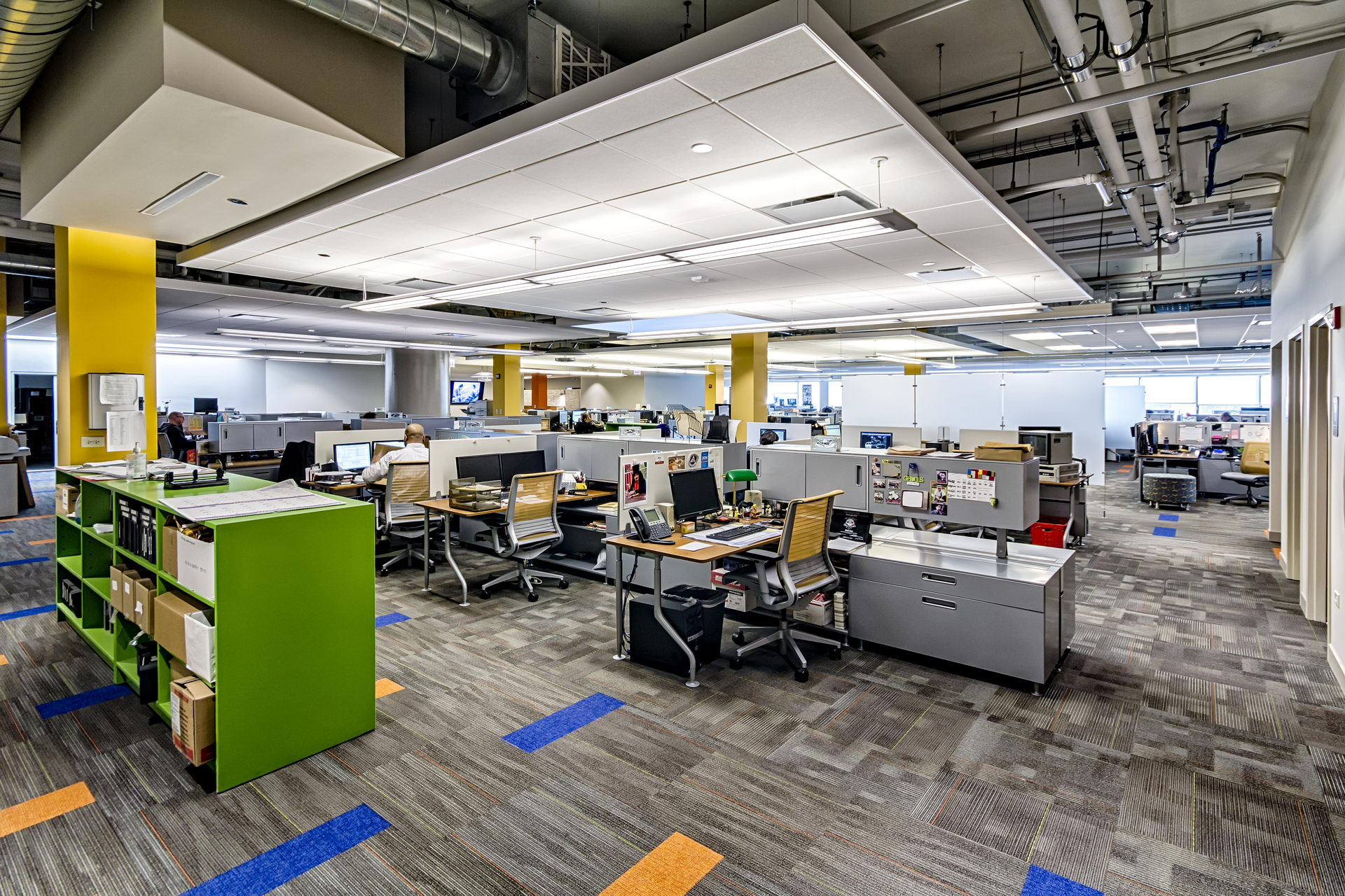 Dla Architects A Modern And Open Office Design Dla