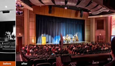 Auditorium Renovation by ENR Midwest Top Design Firm