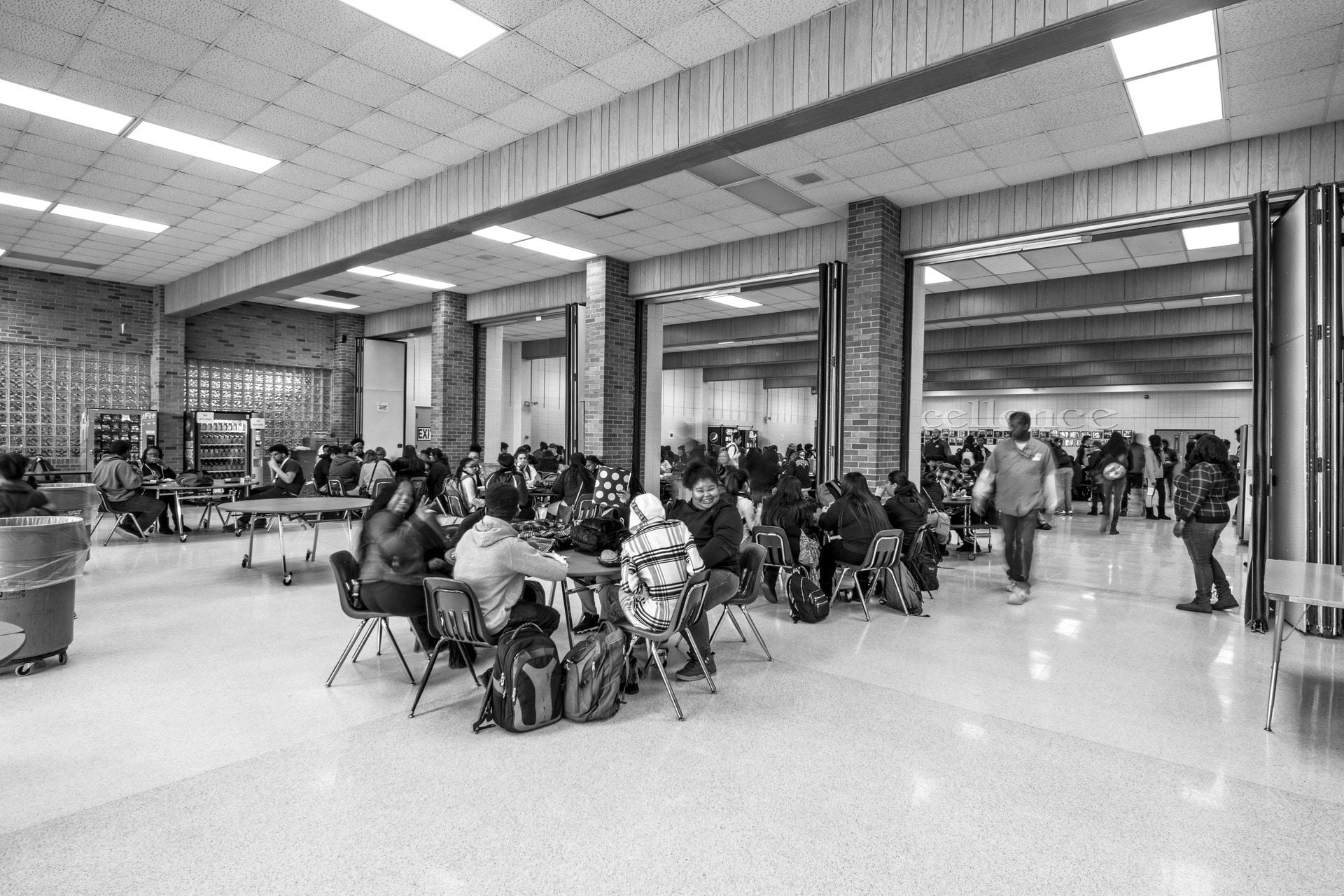 Kankakee Cafeteria Before