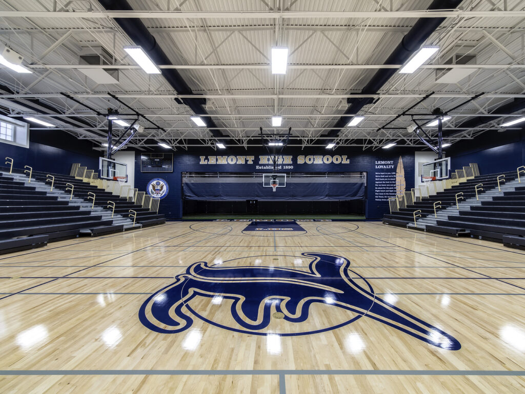 Lemont High School Gym - After