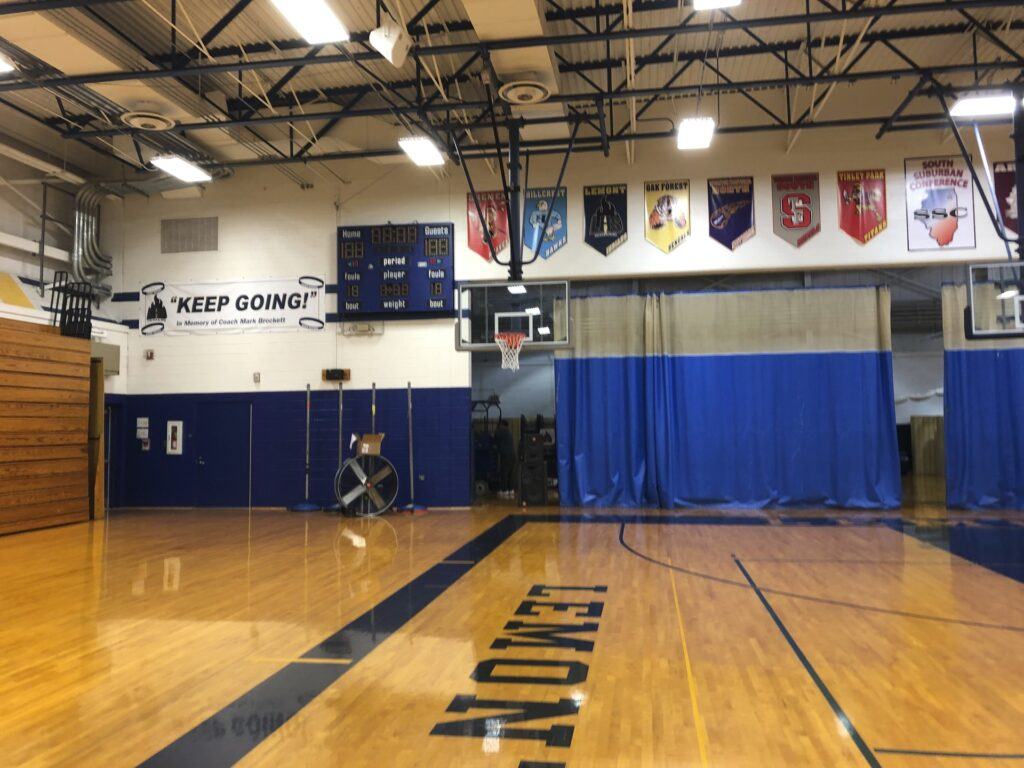 Lemont High School Gym - BEFORE